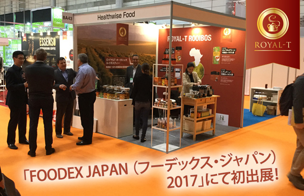 Healthwise Foods and Royal-T at FoodEx Japan